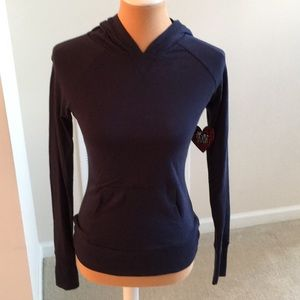 NWT Navy blue hoodie with pockets